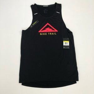 Nike Trail Rise 365 Breathe Running Tank Top Small